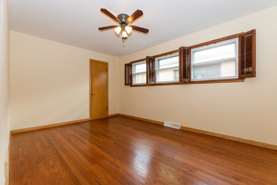Real Estate Photography - 6154 W 64th Pl, Chicago, IL, 60638 - Master Bedroom