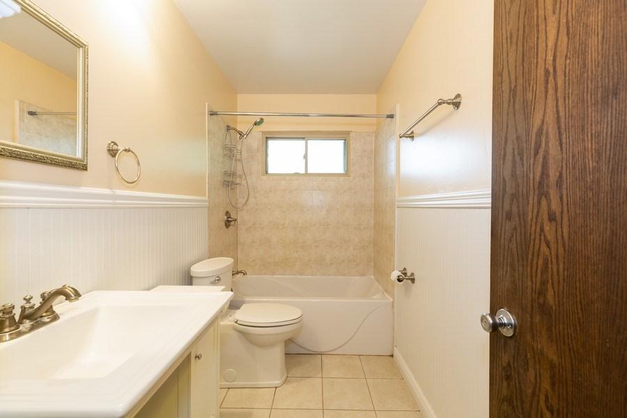 Real Estate Photography - 3009 Hopkins St, Steger, IL, 60475 - Bathroom