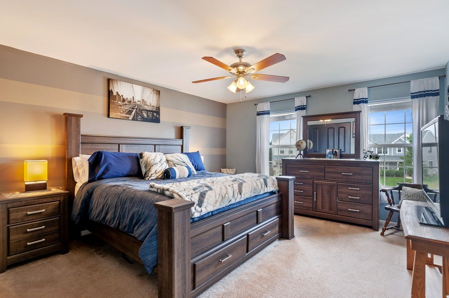 Real Estate Photography - 1565 Prospect Circle, Pingree Grove, IL, 60140 - 2nd Bedroom