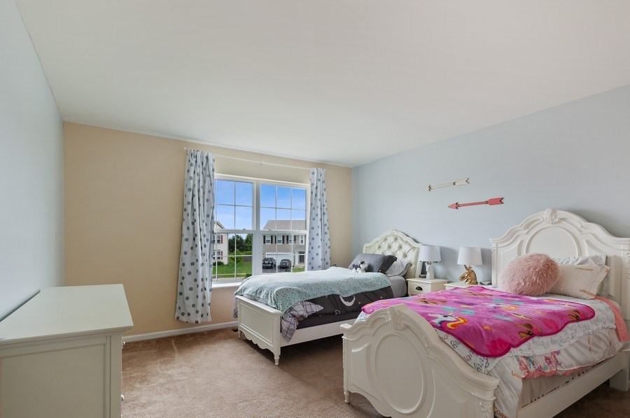 Real Estate Photography - 1565 Prospect Circle, Pingree Grove, IL, 60140 - Kids Bedroom