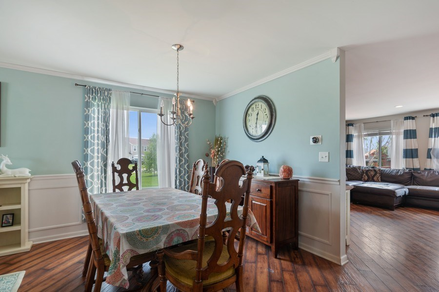 Real Estate Photography - 1565 Prospect Circle, Pingree Grove, IL, 60140 - Dining Room