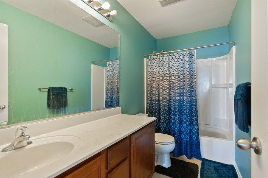 Real Estate Photography - 1565 Prospect Circle, Pingree Grove, IL, 60140 - Bathroom