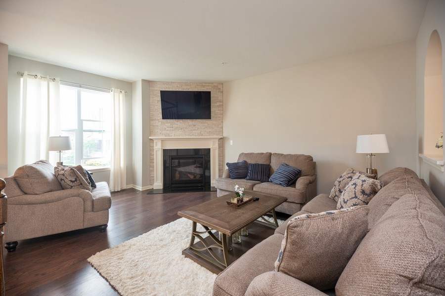Real Estate Photography - 1175 Evergreen Ave, Des Plaines, IL, 60016 - Living Room