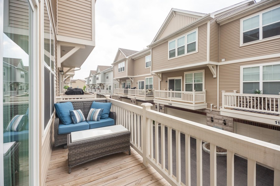 Real Estate Photography - 1175 Evergreen Ave, Des Plaines, IL, 60016 - Balcony