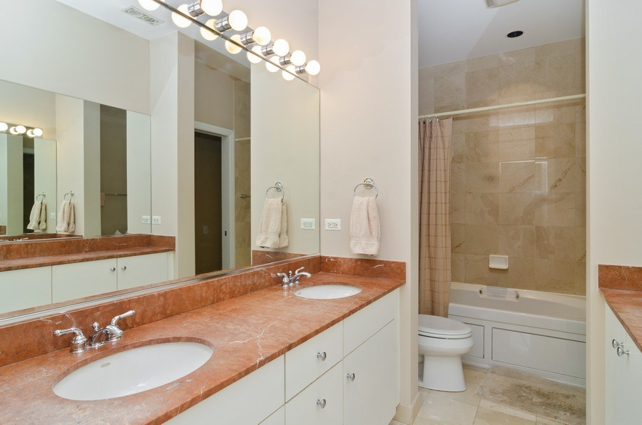 Real Estate Photography - 1443 Cleveland, Chicago, IL, 60610 - Master Bathroom