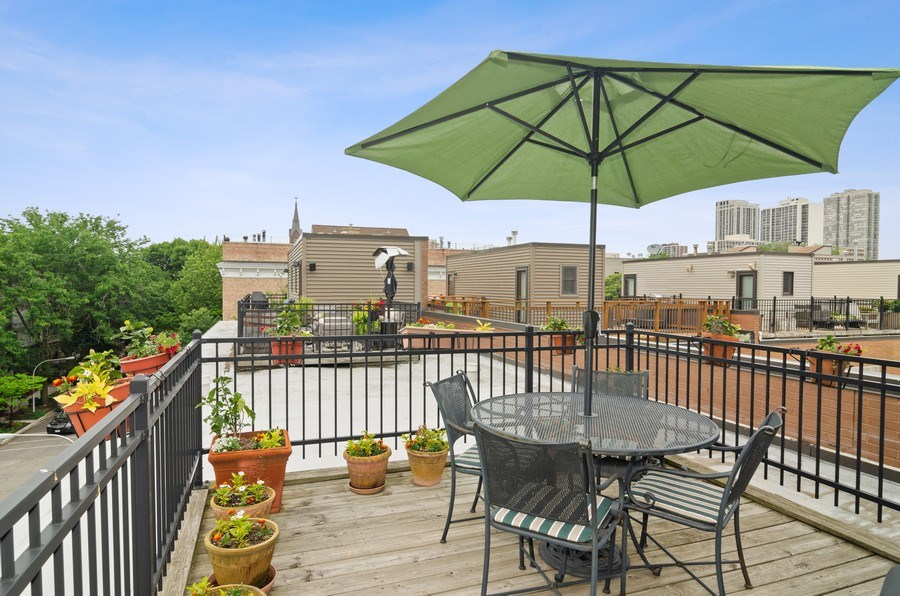 Real Estate Photography - 1443 Cleveland, Chicago, IL, 60610 - Roof Deck
