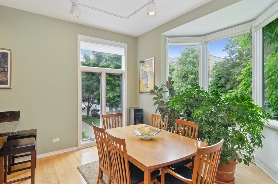 Real Estate Photography - 1443 Cleveland, Chicago, IL, 60610 - Dining Room