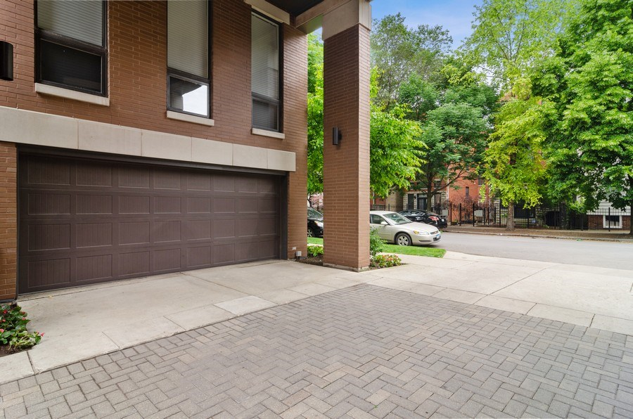 Real Estate Photography - 1443 Cleveland, Chicago, IL, 60610 - Garage
