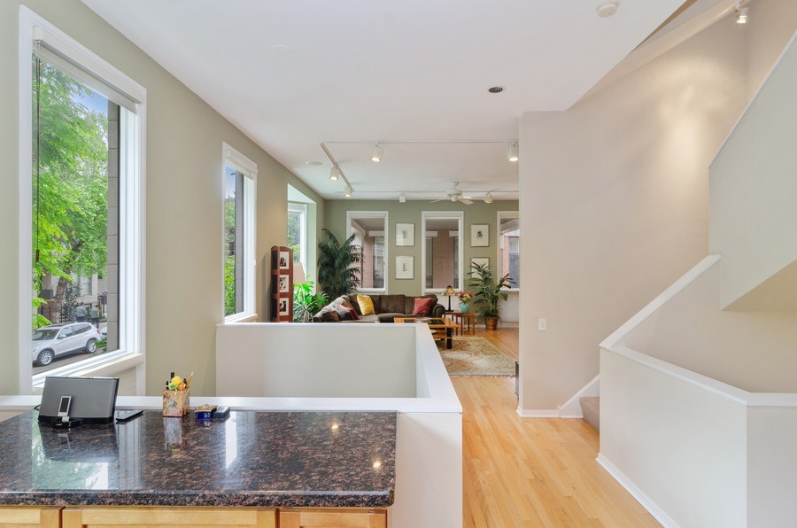 Real Estate Photography - 1443 Cleveland, Chicago, IL, 60610 - Staircase