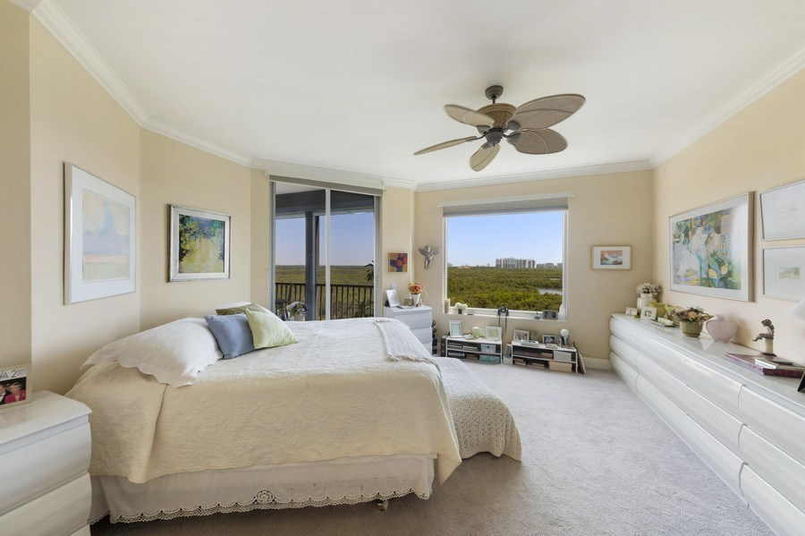 Real Estate Photography - 425 Cove Tower Dr, Naples, FL, 34110 - Master Bedroom