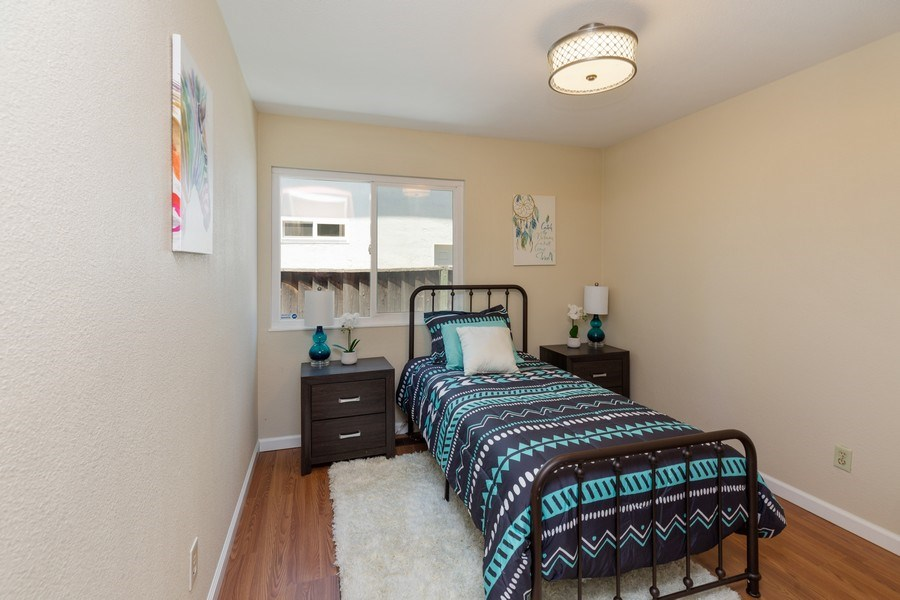 Real Estate Photography - 1105 Nicklaus Ave, Milpitas, CA, 95035 - 2nd Bedroom