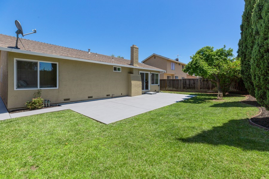 Real Estate Photography - 1105 Nicklaus Ave, Milpitas, CA, 95035 - Back Yard