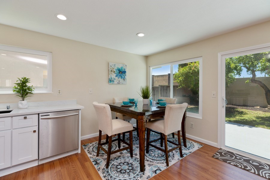 Real Estate Photography - 1105 Nicklaus Ave, Milpitas, CA, 95035 - Dining Area