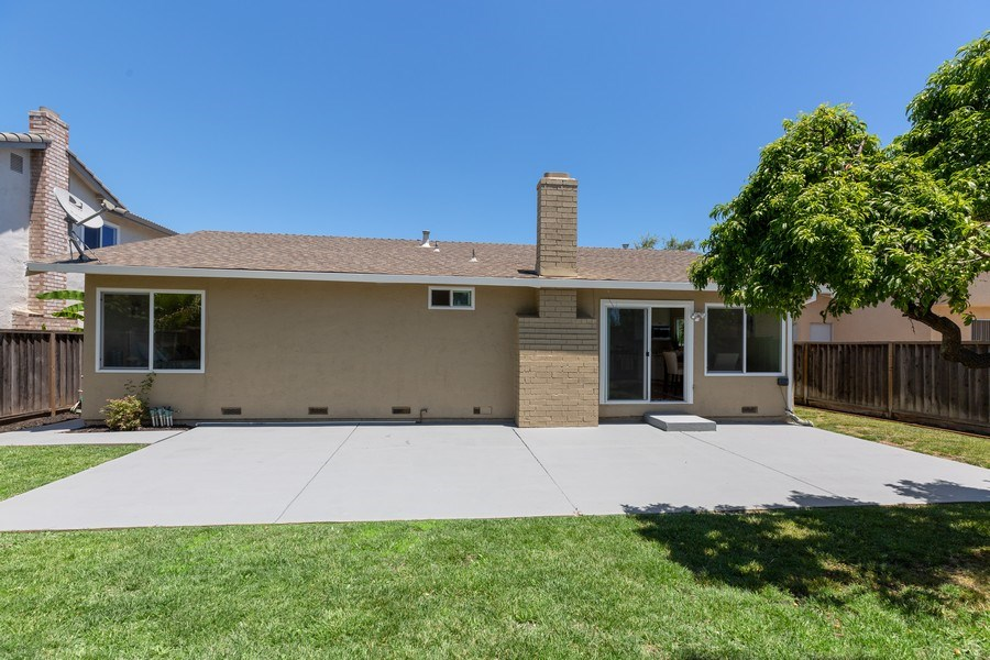 Real Estate Photography - 1105 Nicklaus Ave, Milpitas, CA, 95035 - Rear View