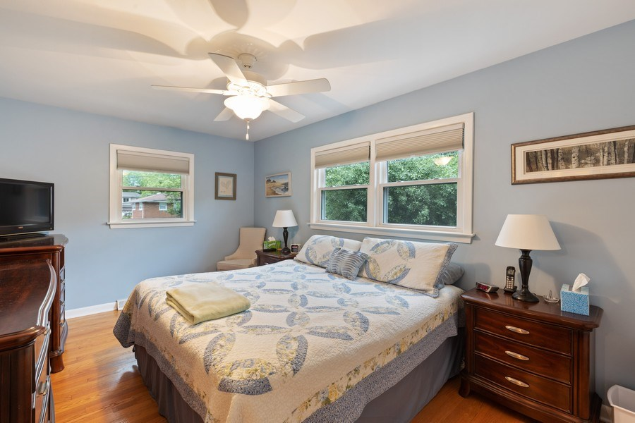 Real Estate Photography - 216 S. Yale Avenue, Arlington Heights, IL, 60005 - Master Bedroom
