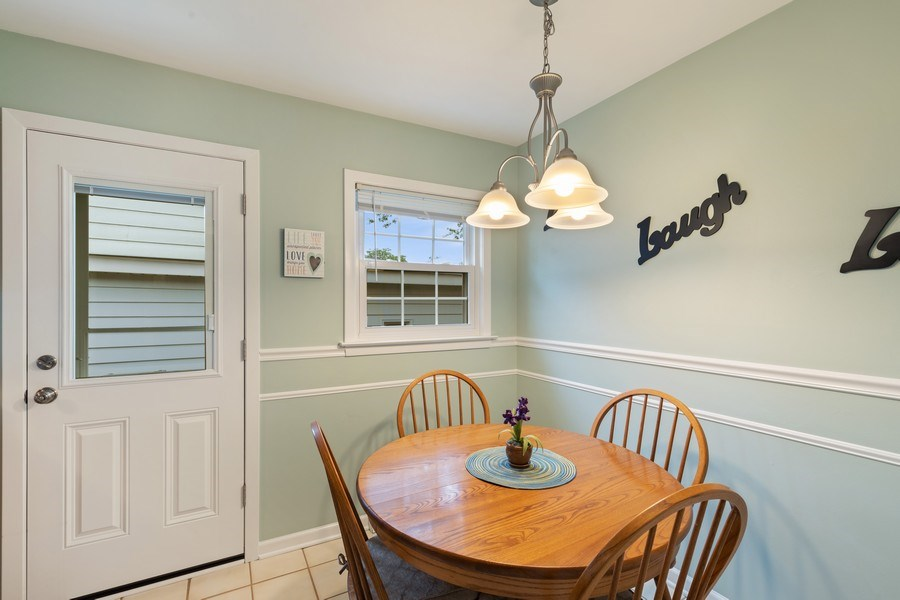 Real Estate Photography - 216 S. Yale Avenue, Arlington Heights, IL, 60005 - Breakfast Area