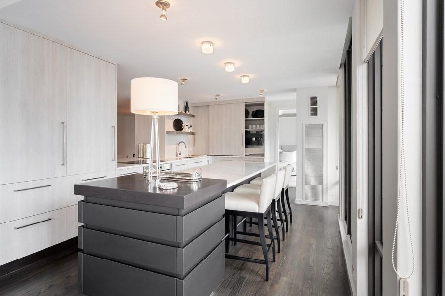 Real Estate Photography - 200 E Delaware, Unit 22D, Chicago, IL, 60611 - Kitchen