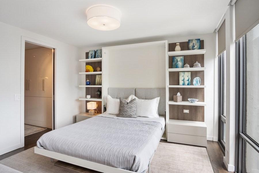 Real Estate Photography - 200 E Delaware, Unit 22D, Chicago, IL, 60611 - 3rd Bedroom
