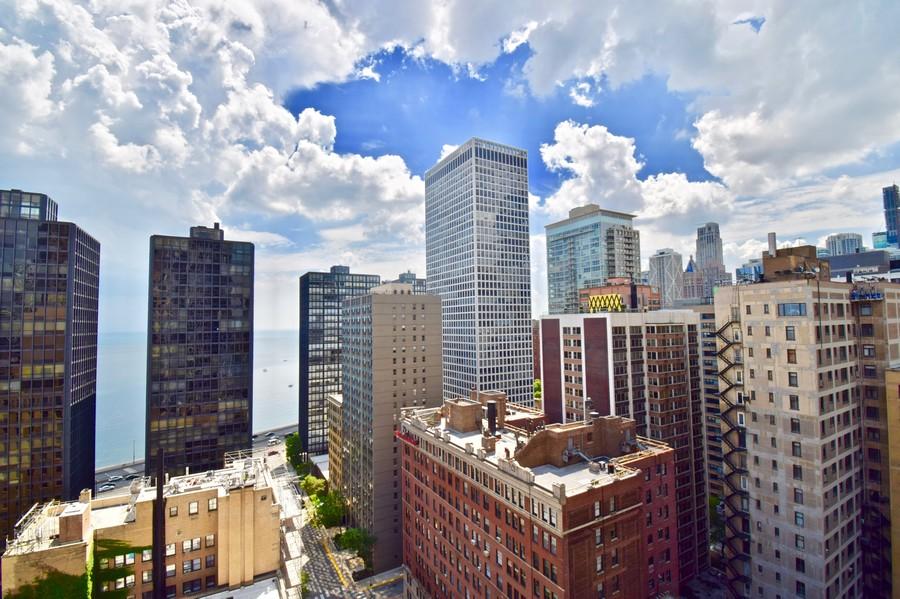 Real Estate Photography - 200 E Delaware, Unit 22D, Chicago, IL, 60611 - View