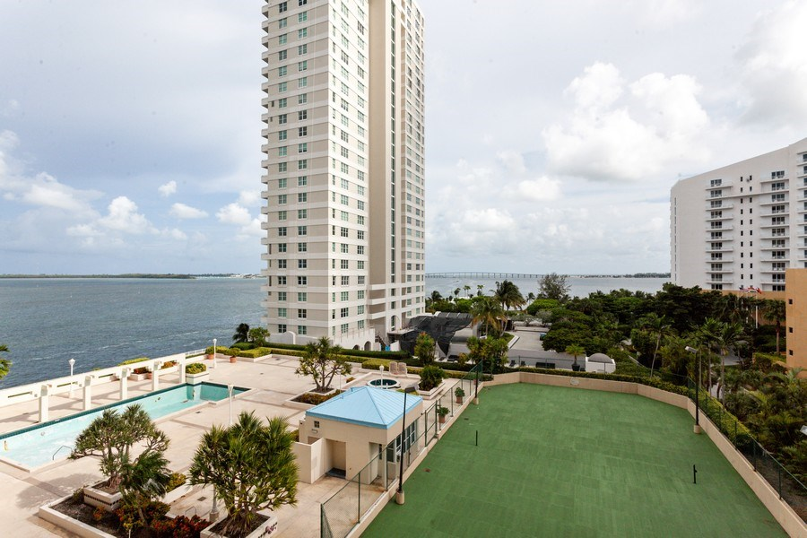 Real Estate Photography - 770 Cloaughton Island Dr, Unit 806, Miami, FL, 33131 - View