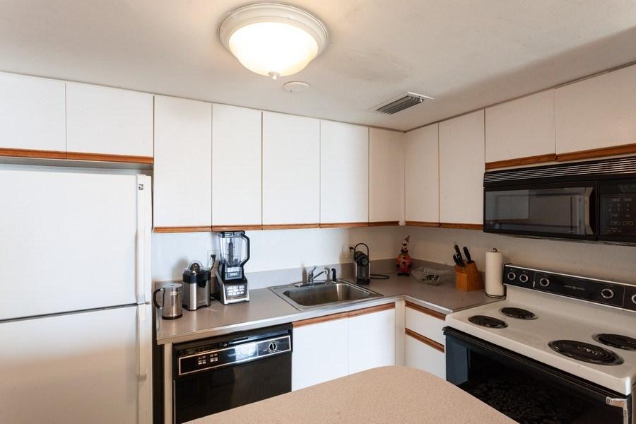 Real Estate Photography - 770 Cloaughton Island Dr, Unit 806, Miami, FL, 33131 - Kitchen