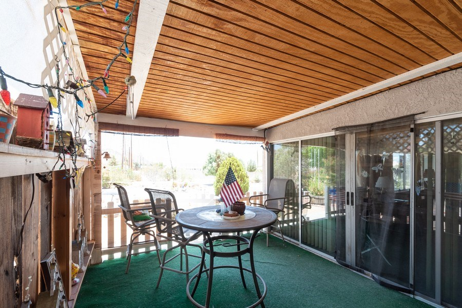 Real Estate Photography - 16401 Nosoni Rd., Apple Valley, CA, 92307 - Patio