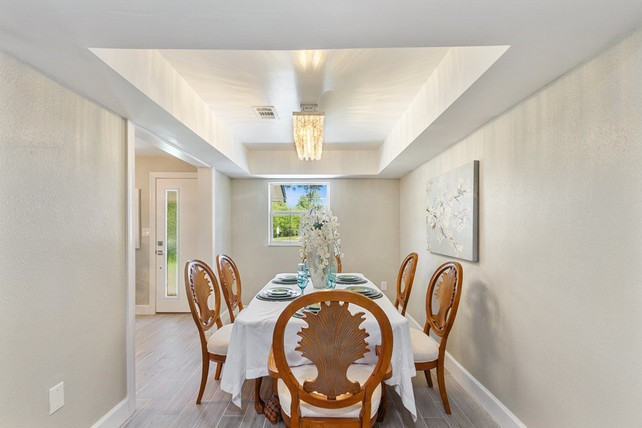 Real Estate Photography - 11154 Park ave, Windermere, FL, 34786 - Dining Room