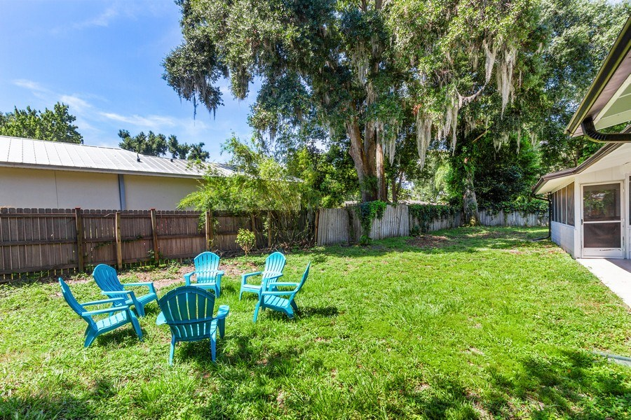 Real Estate Photography - 11154 Park ave, Windermere, FL, 34786 - Back Yard