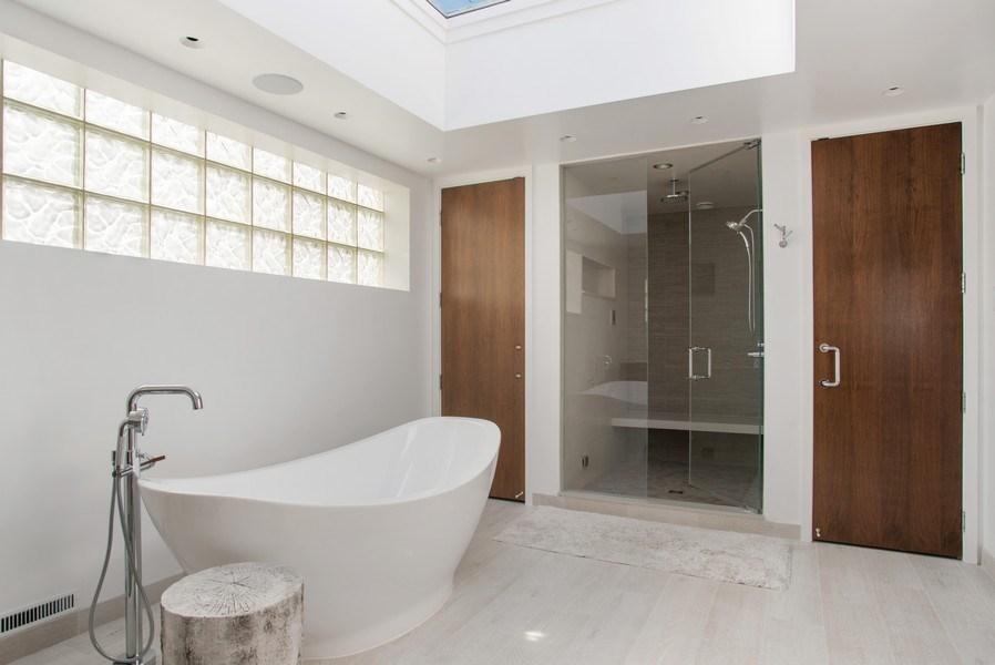 Real Estate Photography - 2138 N. Racine, Chicago, IL, 60614 - Master Bathroom