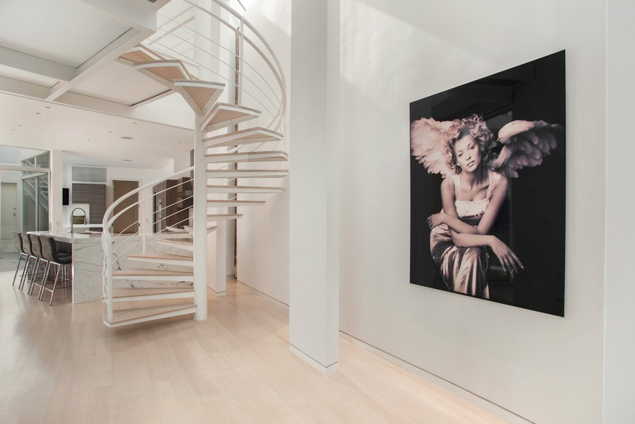 Real Estate Photography - 2138 N. Racine, Chicago, IL, 60614 - Staircase