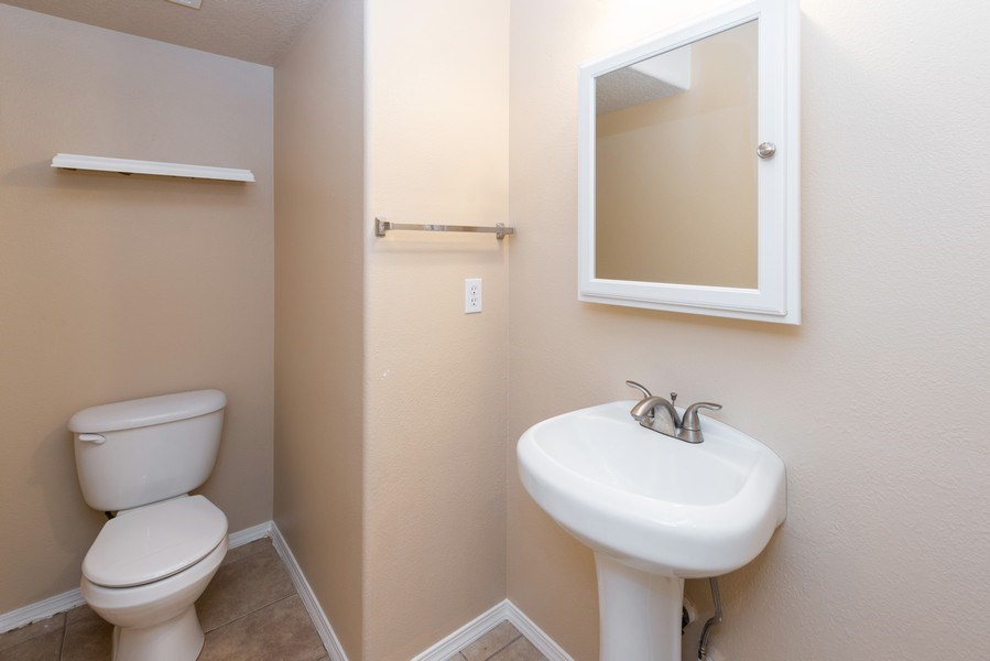 Real Estate Photography - 6534 NW Connery Terr, Portland, OR, 97229 - Powder Room