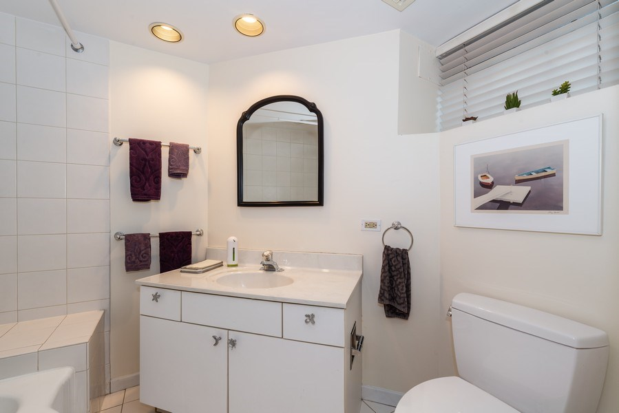 Real Estate Photography - 1730 Wells St, Chicago, IL, 60614 - 3rd Bathroom