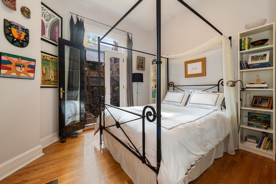 Real Estate Photography - 1730 Wells St, Chicago, IL, 60614 - 2nd Bedroom