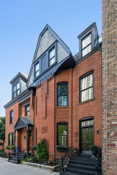 Real Estate Photography - 1730 Wells St, Chicago, IL, 60614 - Front View