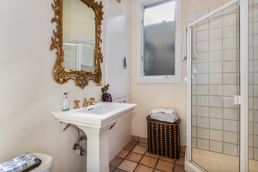 Real Estate Photography - 1730 Wells St, Chicago, IL, 60614 - 2nd Bathroom