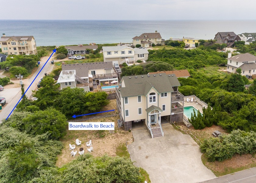 Real Estate Photography - 244 Ocean Blvd, Lot 5, Southern Shores, NC, 27949 -
