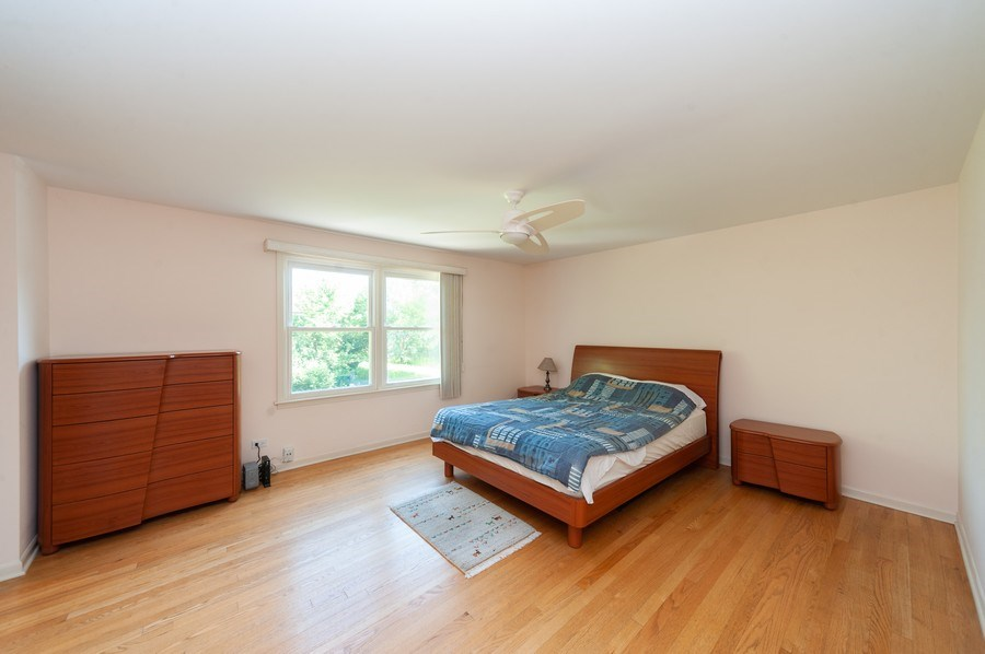 Real Estate Photography - 3920 Miller Dr, Glenview, IL, 60025 - Master Bedroom