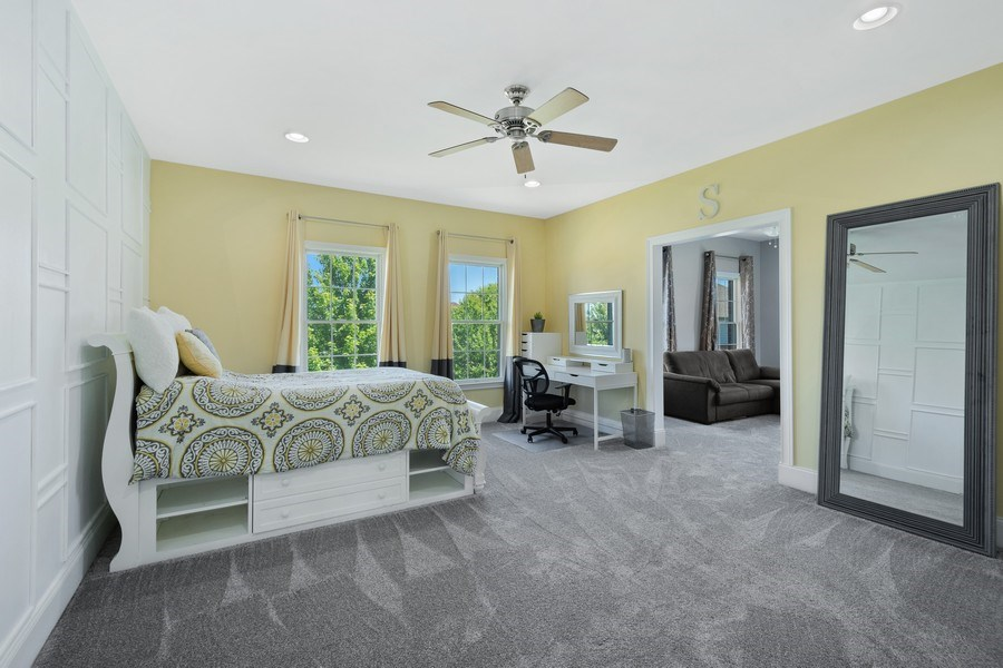 Real Estate Photography - 84 Tournament Dr N, Hawthorn Woods, IL, 60047 - 3rd Bedroom