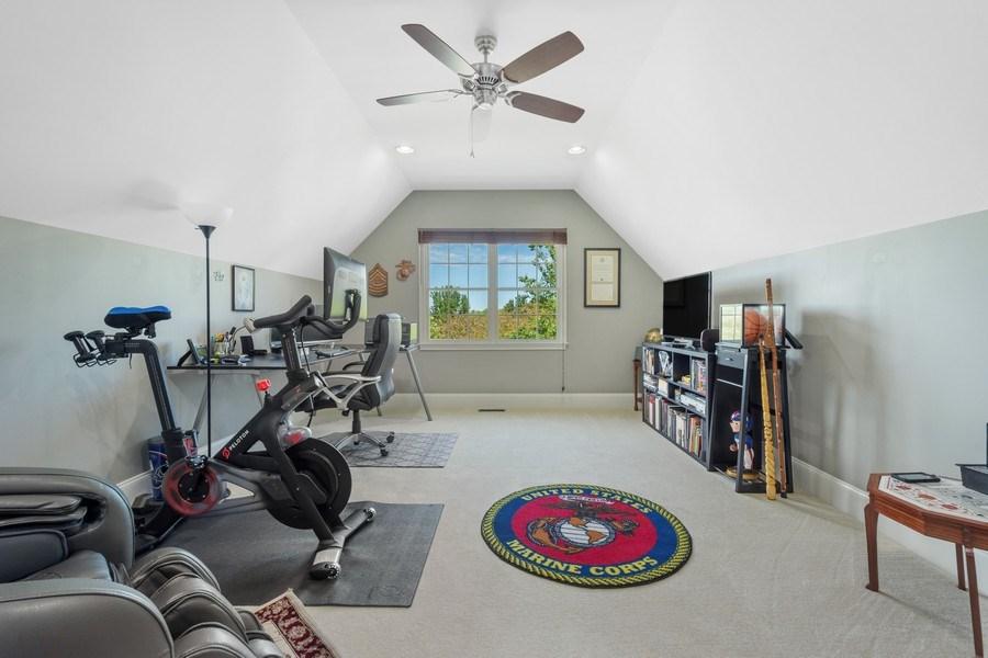 Real Estate Photography - 84 Tournament Dr N, Hawthorn Woods, IL, 60047 - Bonus Room