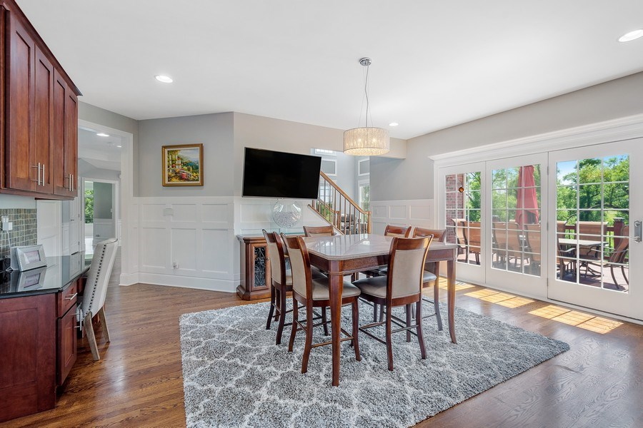 Real Estate Photography - 84 Tournament Dr N, Hawthorn Woods, IL, 60047 - Breakfast Area