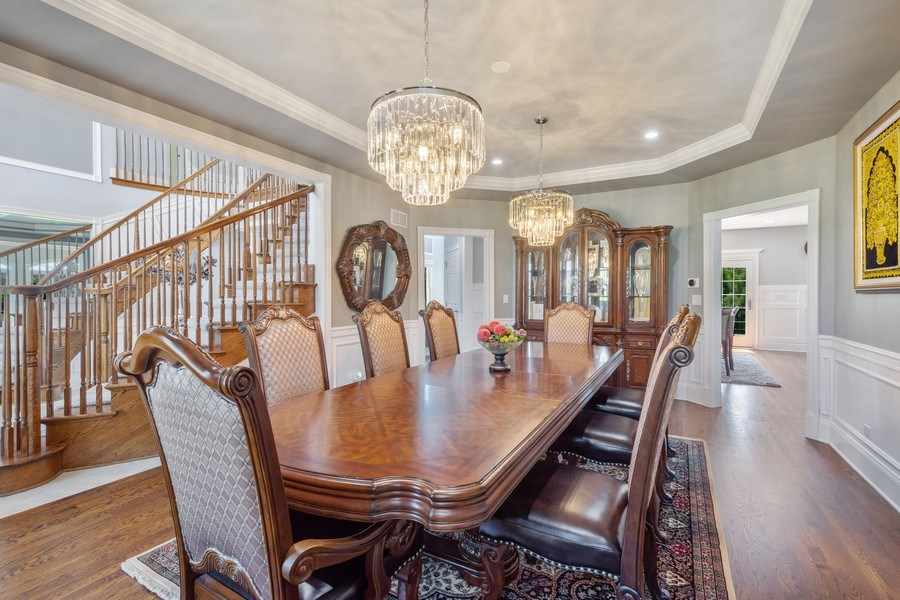 Real Estate Photography - 84 Tournament Dr N, Hawthorn Woods, IL, 60047 - Dining Room