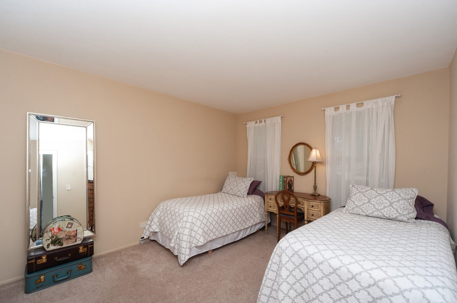 Real Estate Photography - 1602 Warwick, B1, Wheeling, IL, 60090 - 2nd Bedroom