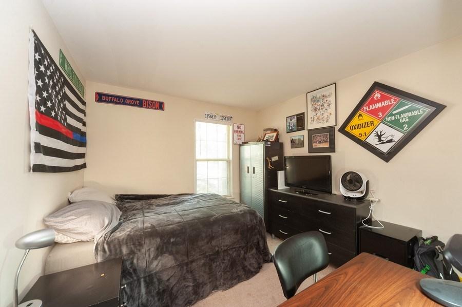 Real Estate Photography - 1602 Warwick, B1, Wheeling, IL, 60090 - 3rd Bedroom