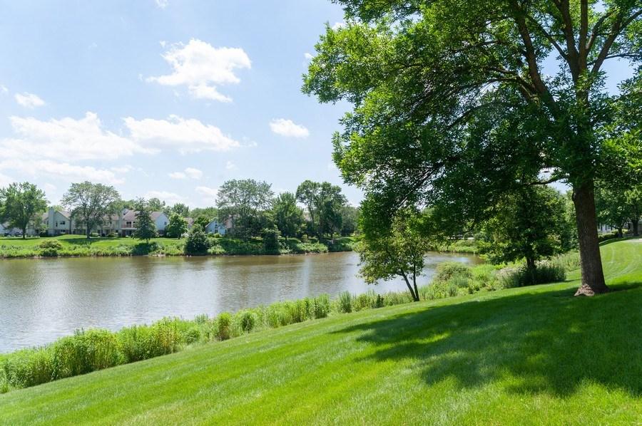 Real Estate Photography - 1602 Warwick, B1, Wheeling, IL, 60090 - Lake