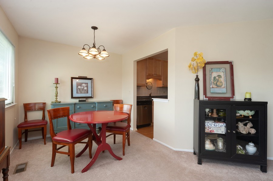 Real Estate Photography - 1602 Warwick, B1, Wheeling, IL, 60090 - Dining Room