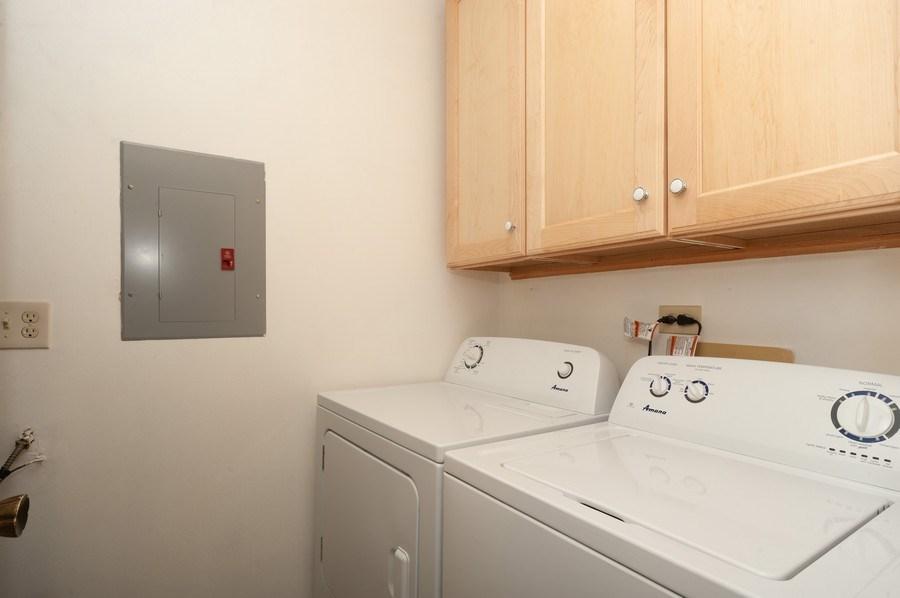 Real Estate Photography - 1602 Warwick, B1, Wheeling, IL, 60090 - Laundry Room