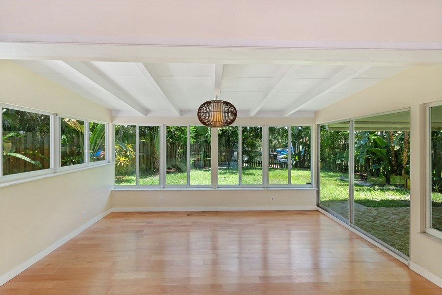 Real Estate Photography - 3762 Riverland Road, Ft. Lauderdale, FL, 33312 - Family Room