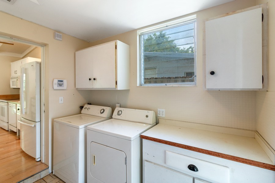 Real Estate Photography - 3762 Riverland Road, Ft. Lauderdale, FL, 33312 - Laundry Room