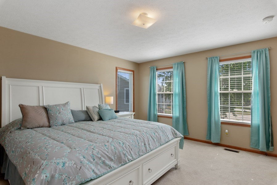 Real Estate Photography - 8960 Birdie Bend, Belvidere, IL, 61008 - Master Bedroom