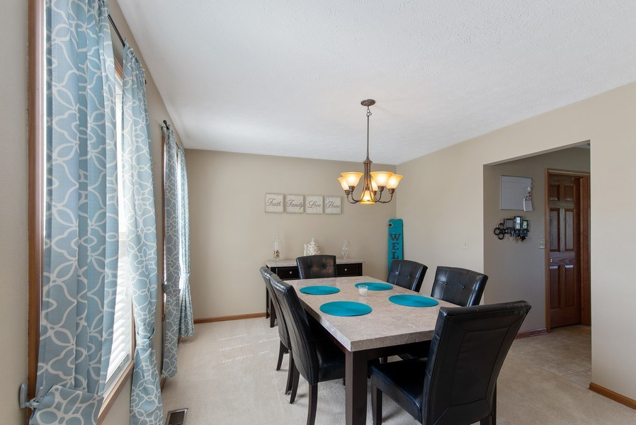 Real Estate Photography - 8960 Birdie Bend, Belvidere, IL, 61008 - Dining Room